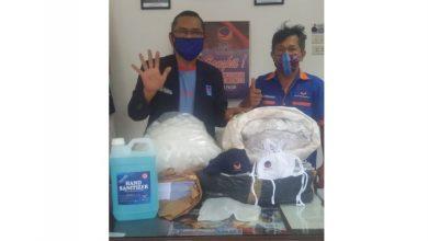 Photo of Martin Manurung Kirim Masker dan Hand Sanitizer ke Dapil Sumut III