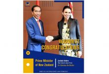 Photo of NasDem Party Congratulates Her Excellency Prime Minister Jacinda Ardern and the New Zealand Labor Party on the Victorious Election 2020