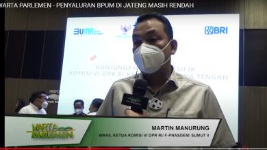Photo of Video Warta Parlemen: Penyaluran BPUM di Jateng Masih Rendah
